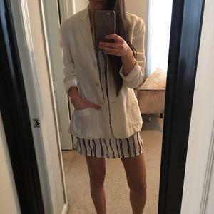 LAUREN linen blazer
